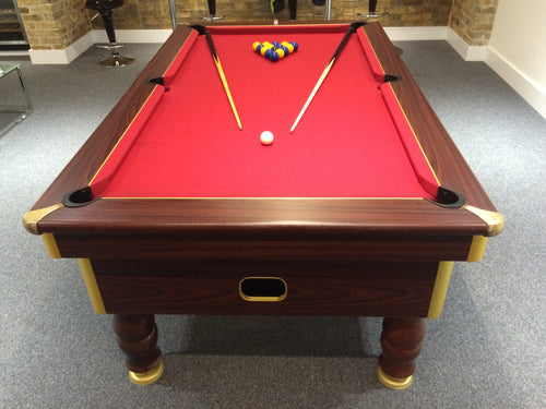 Excel Regent 6' x 3' Reconditioned Pool table