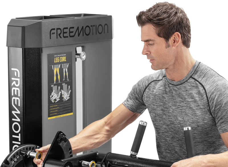 Freemotion - Selectorized Leg Curl