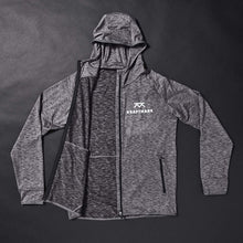 Load image into Gallery viewer, Hoodie Charcoal Gray Herr – Kraftmark