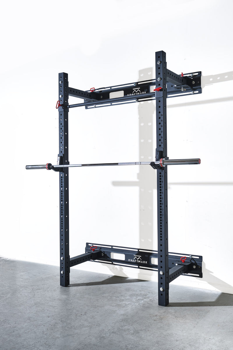 Fold Back Squat Rack