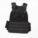 Tactical Viktväst Black 9 kg