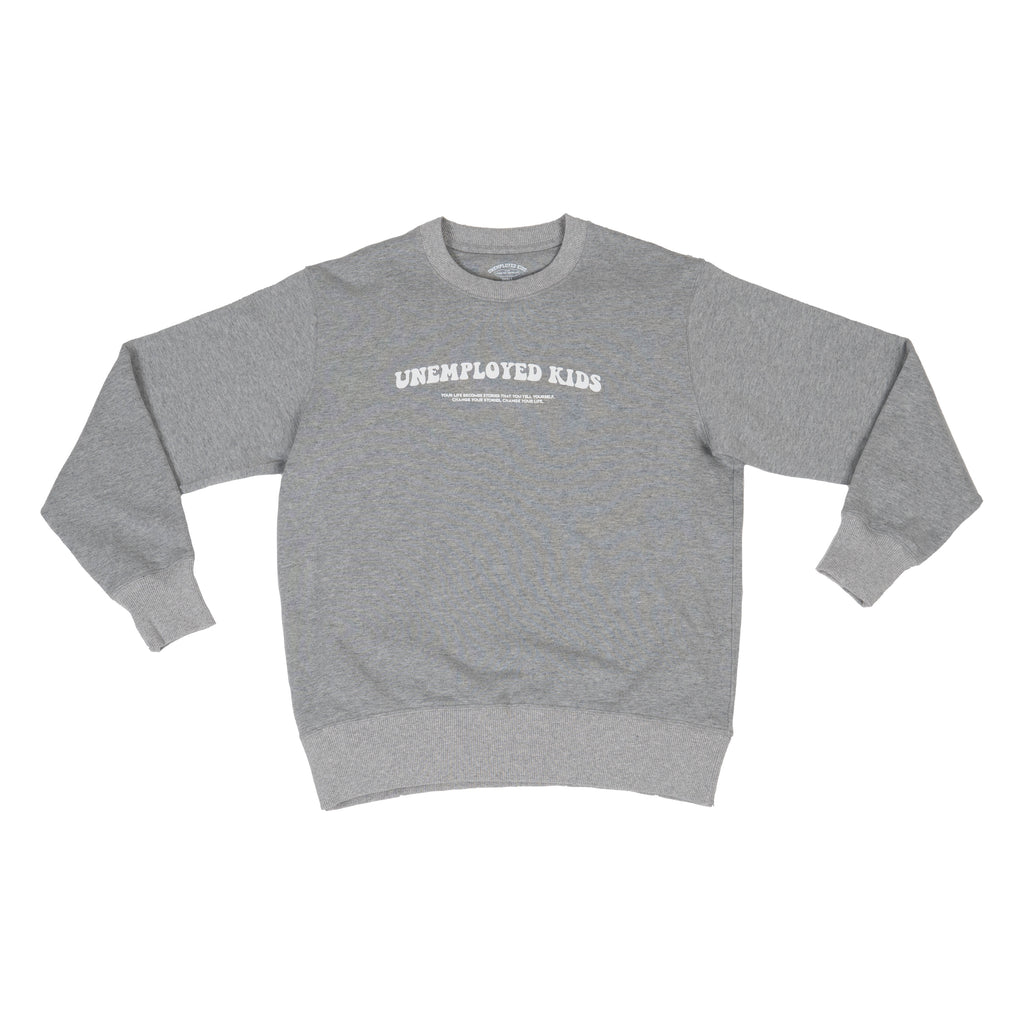 Grey Life's Stories Crew Neck