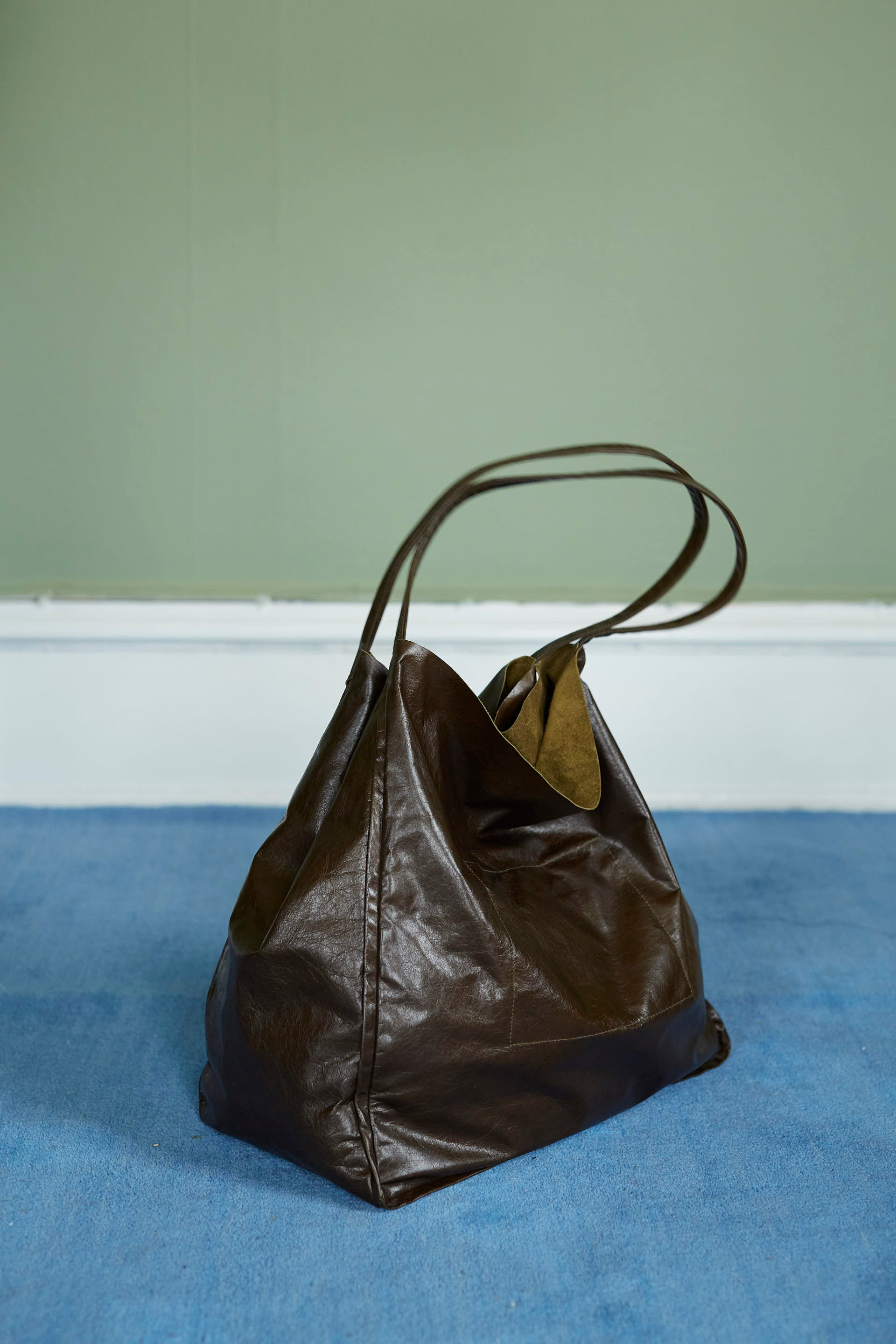 Olive Leather Bag