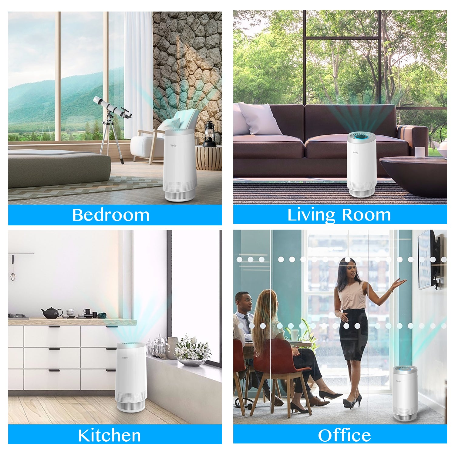 Air Purifier for Home 180 Sq.ft Room with H13 True Hepa Filter, Removes Dust/Smoke/Odor/Pollen/Pet Dander and Other Particles