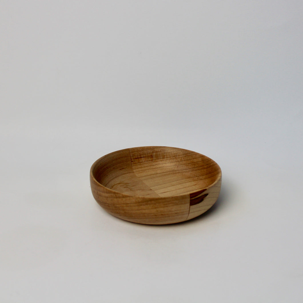 Ambrosia Maple Segmented Spice Bowl
