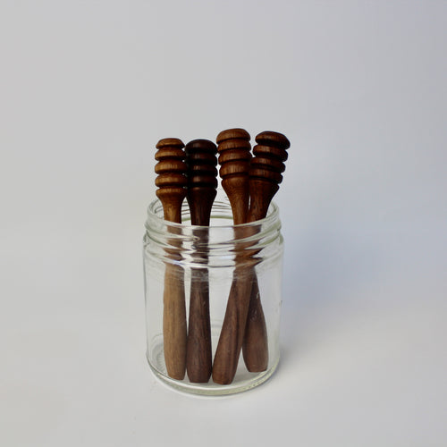 Walnut Honey Dipper