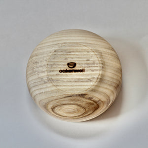 Elm Bowl with Aluminum Inlay