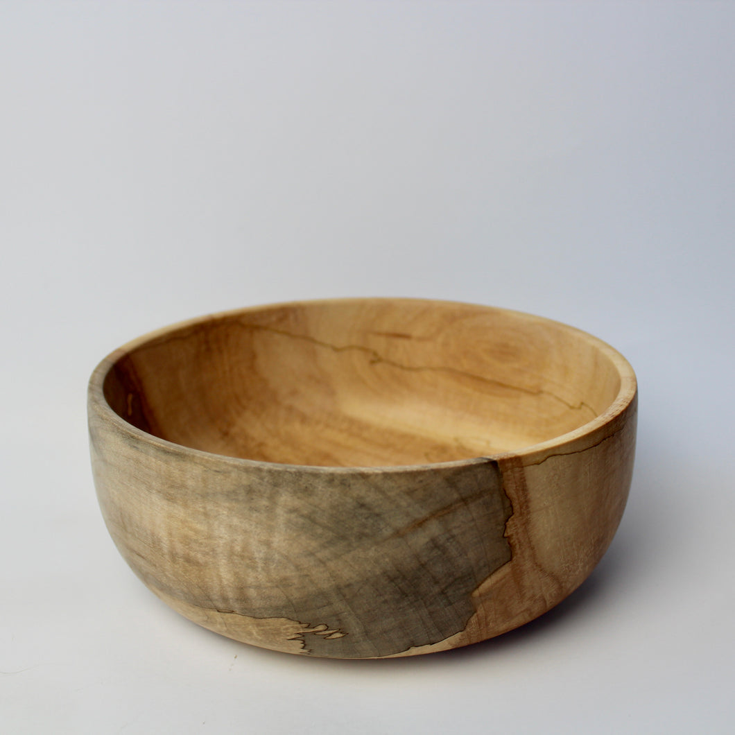 Spalted Maple Fruit Bowl