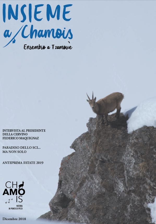Insieme a Chamois cover dicembre 2018