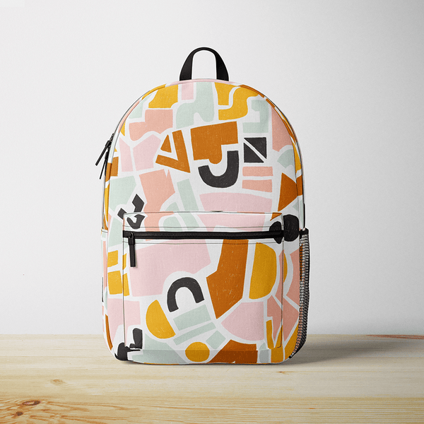 Abstract Geometric Backpack