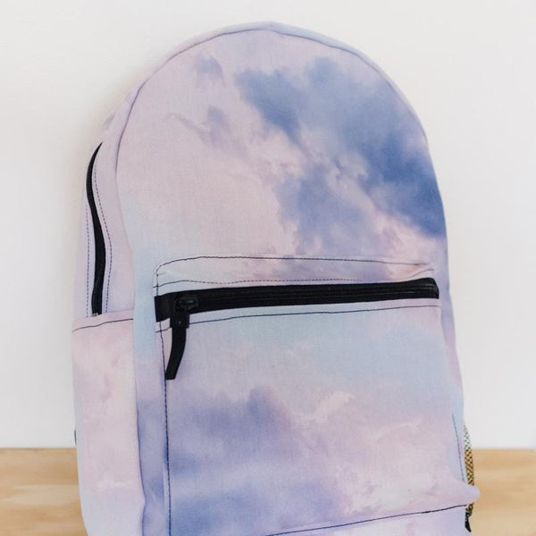 Purple Clouds Backpack