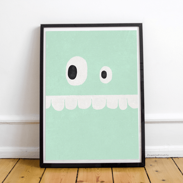 Mint Face Printable Wall Art