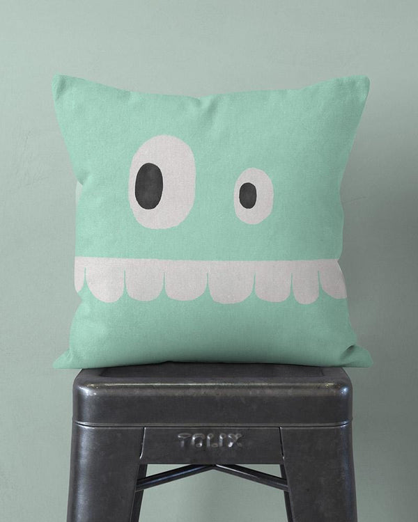 Funny Face Pillow w/ Teeth