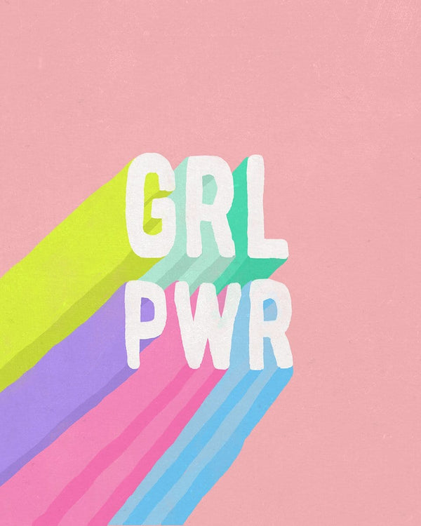 GRL PWR Wall Tapestry