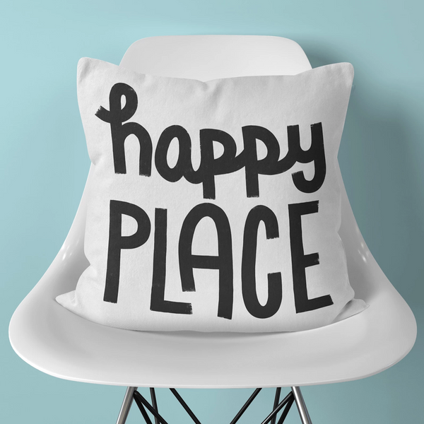 Happy Place Pillow