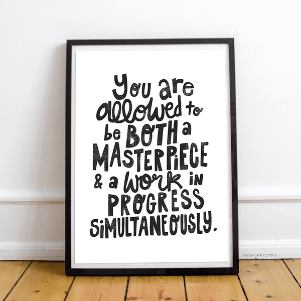 Masterpiece & Work of Art Print