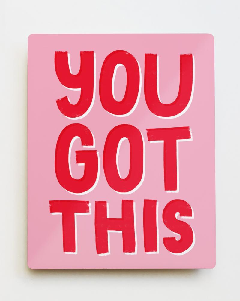'You Got This' Metal Wall Art