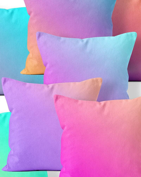 Unicorn Ombre Throw Pillow
