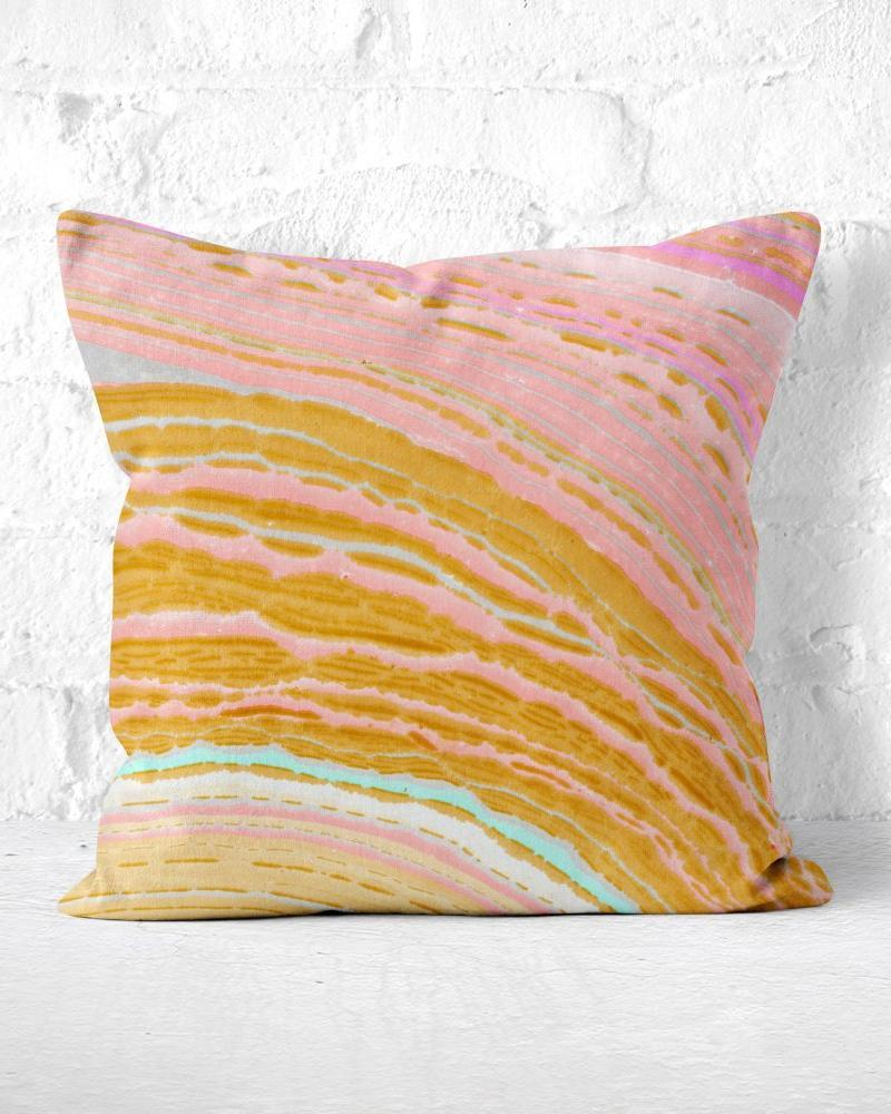 Marble Pillow, Agate Pillow, Pink Throw Pillow, Pink and Gold, Marbled Throw Pillow, Pink Marble Pillow, Gold Marble Pillow, Neutral Marble