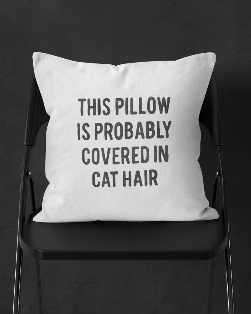 Funny Cat Decor, Cat Pillow Plush, Plush Cat Pillow, Cat Lady Gift Ideas, Cat Owner Gift, Cat Pillow, Cat Lady Gifts, Cute Pillow Cat