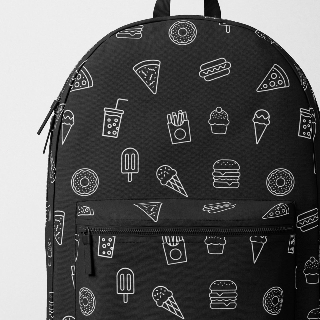 Pizza & Snacks Backpack