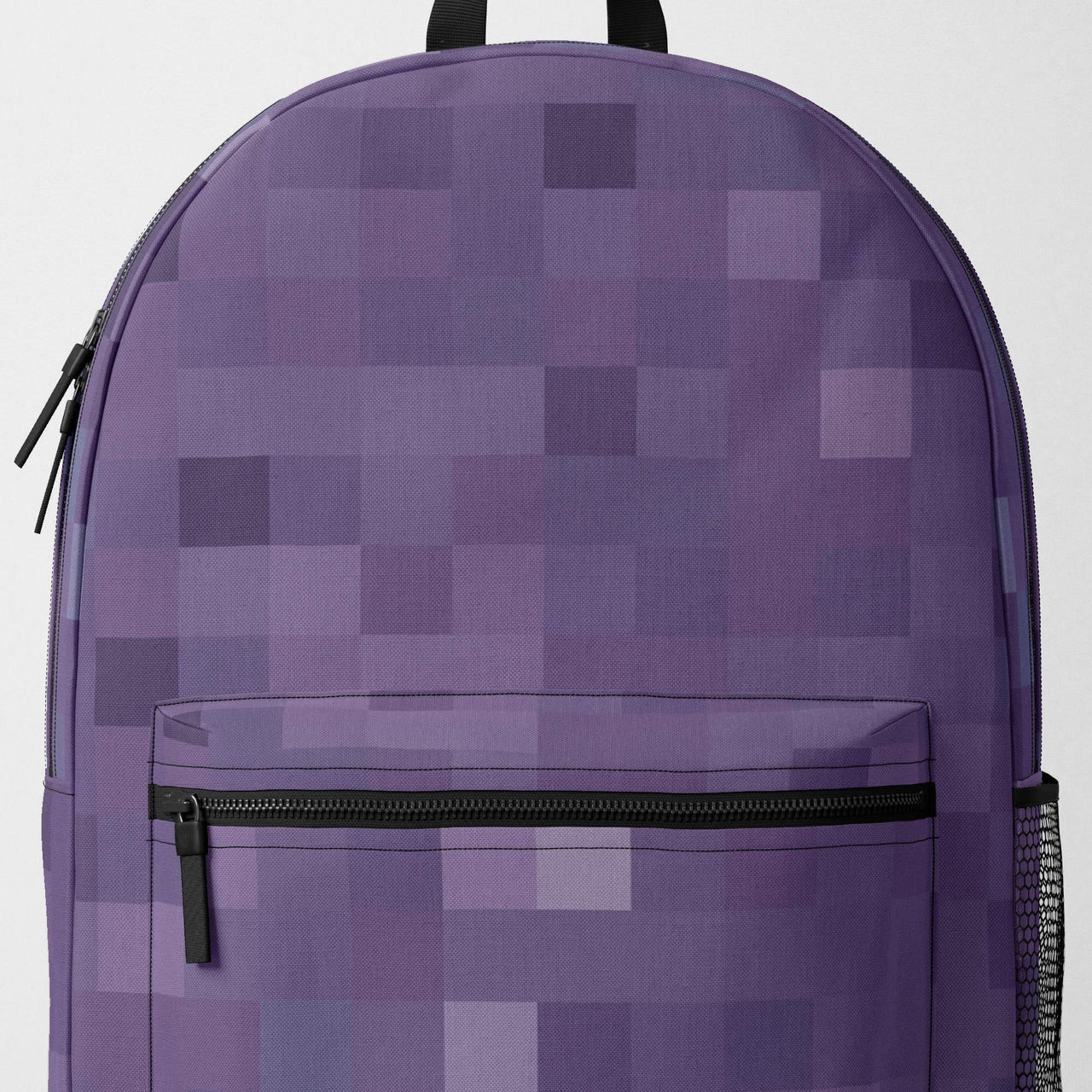 Purple Pixel Backpack