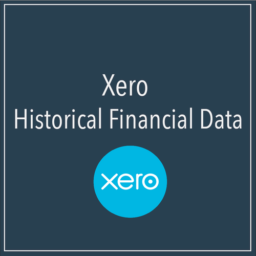 Xero Historical Financial Data