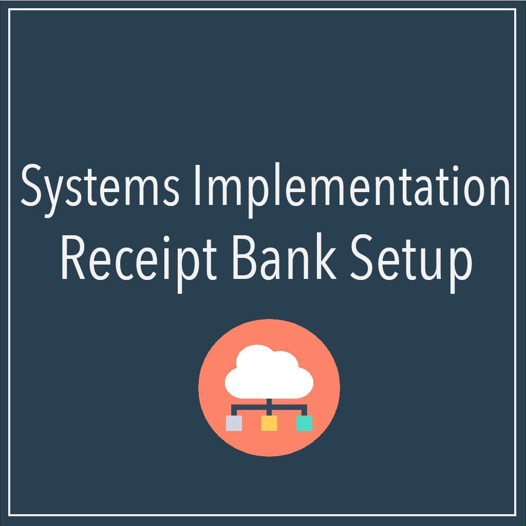Receipt Bank Setup