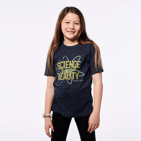 Marie Curie Science glow-in-the-dark T-Shirt