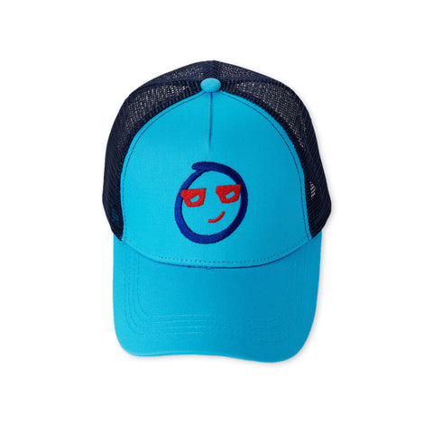 Embroidered Emoji Trucker Hat