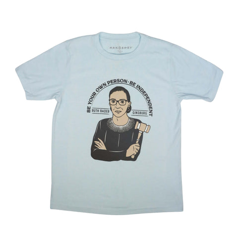Image of Ruth Bader Ginsburg Supreme Court Justice T-Shirt