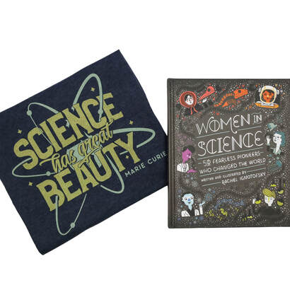 Women in Science: 50 Fearless Pioneers Who Changed the World, Written and Illustrated by Rachel Ignotofsky