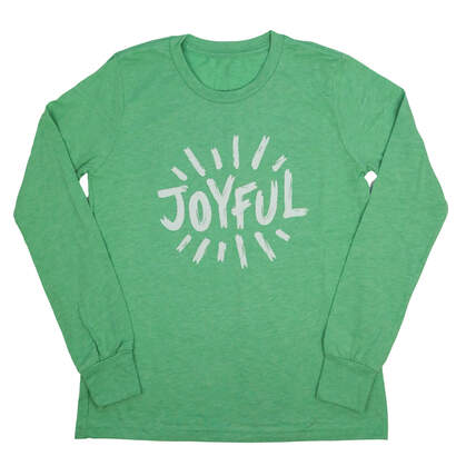 Joyful! Wear Your Character Long Sleeve T-Shirt