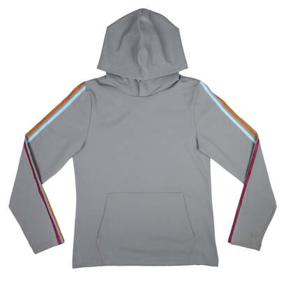 Image of Striped Active Hoodie