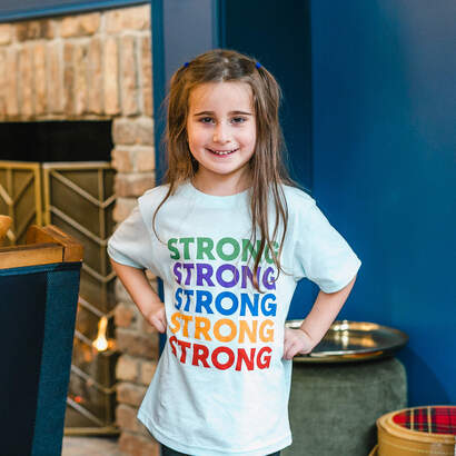 Strong! Wear Your Character Long Sleeve T-Shirt