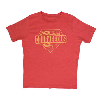 Image of Courageous! Wear Your Character T-Shirt