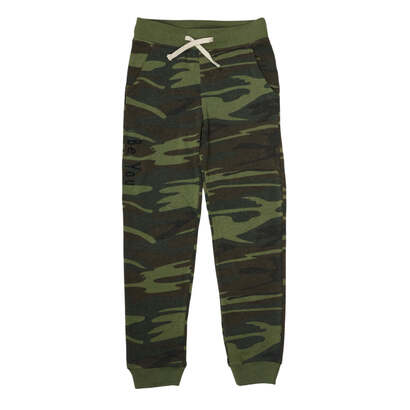 Be You Comfy Joggers Green Camo