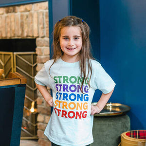 Strong! Wear Your Character Short Sleeve T-Shirt