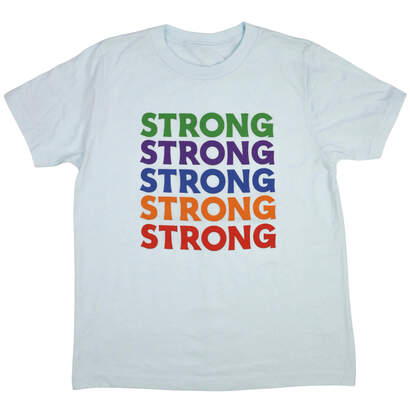 Image of Strong! Wear Your Character Short Sleeve T-Shirt