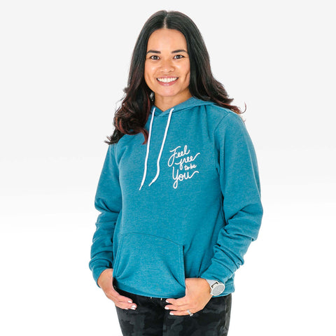 Feel Free To Be You Adult Hoodie