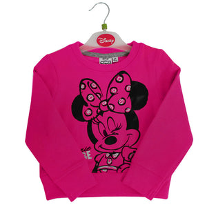 Pink Minnie Mouse Sweatshirt