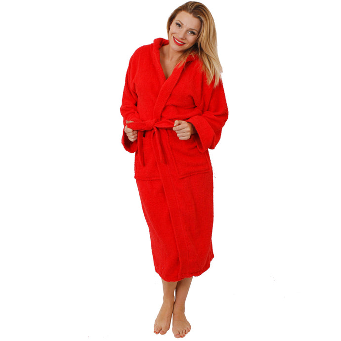 Unisex Red Bathrobe