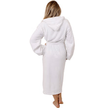 Load image into Gallery viewer, Unisex White Bathrobe