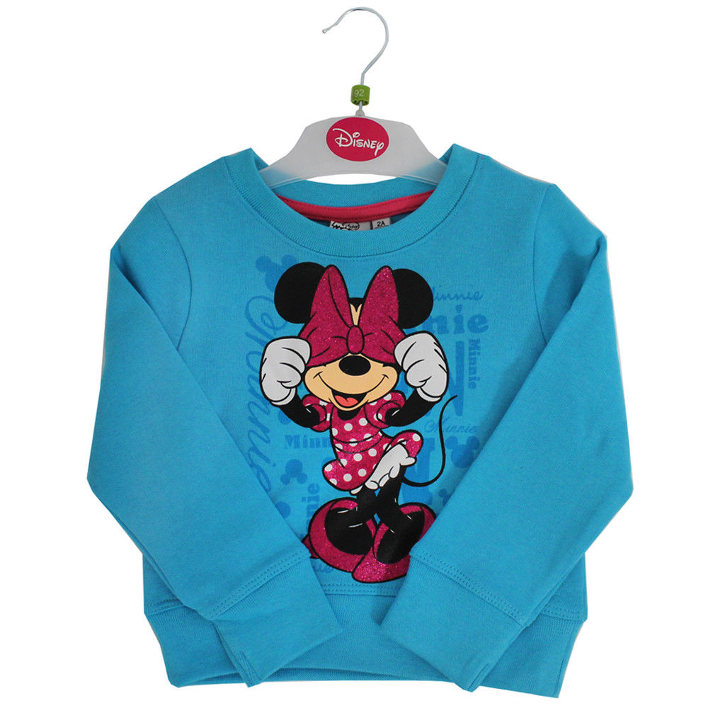 Blue Minnie Mouse Sweatshirt