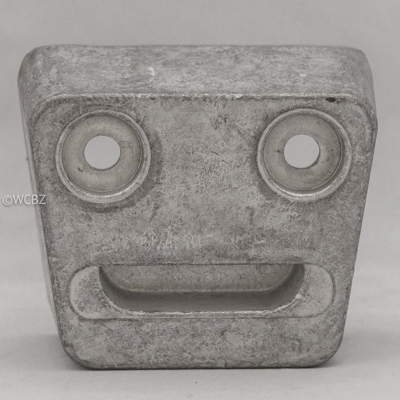 Volvo Clown Face Anode - Aluminum -