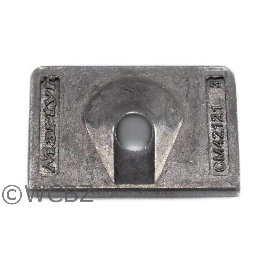 Mercury Small (6-15HP) Skeg - Zinc -