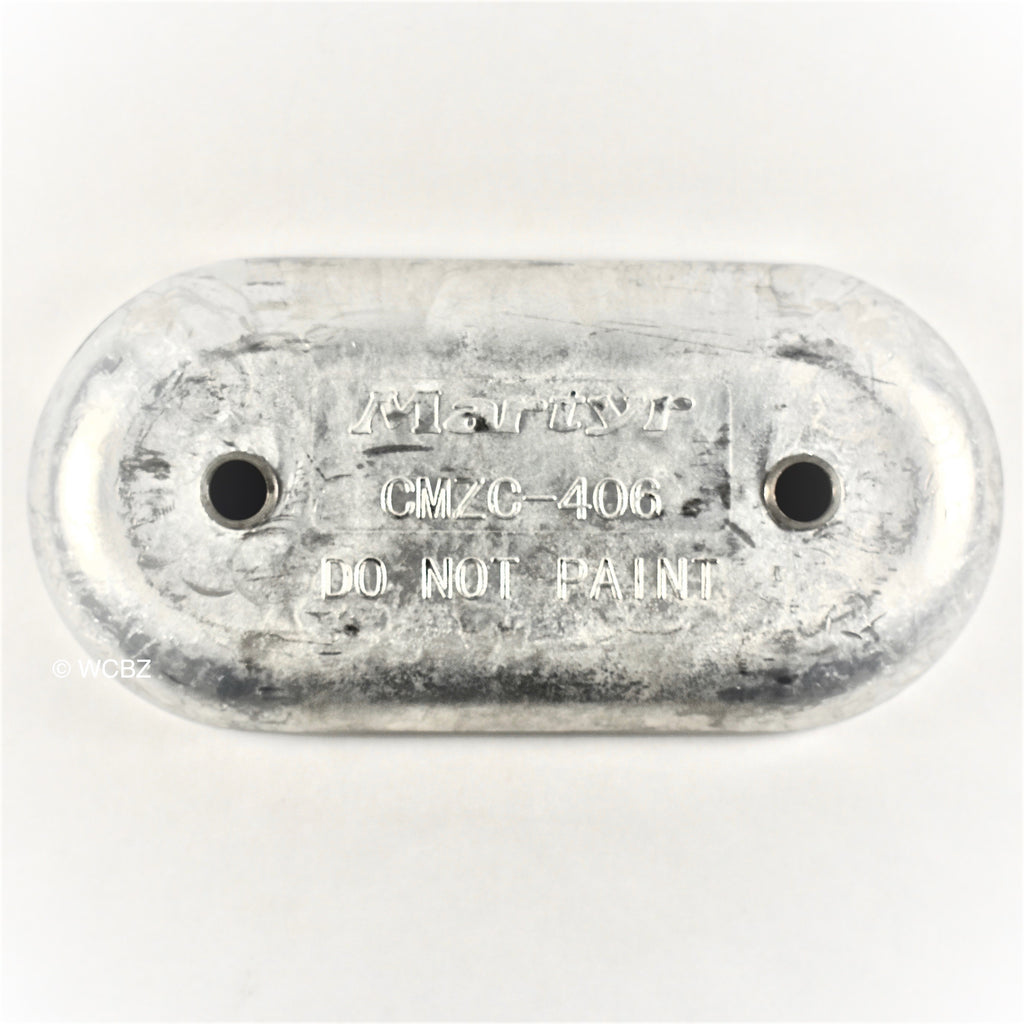 Sea Ray Hull Plate - Zinc -
