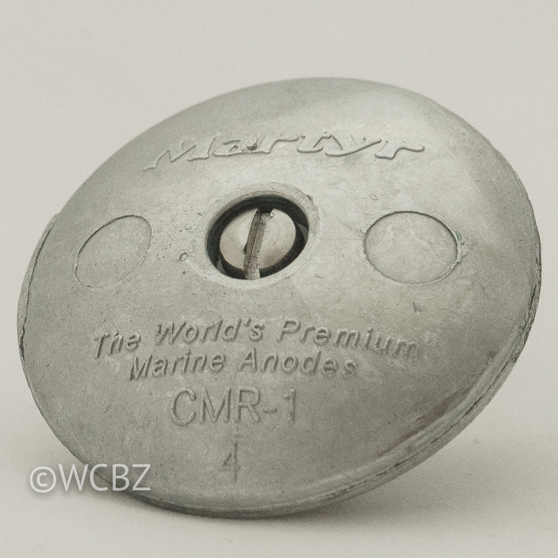 CMR-1 Rudder Button - Zinc -