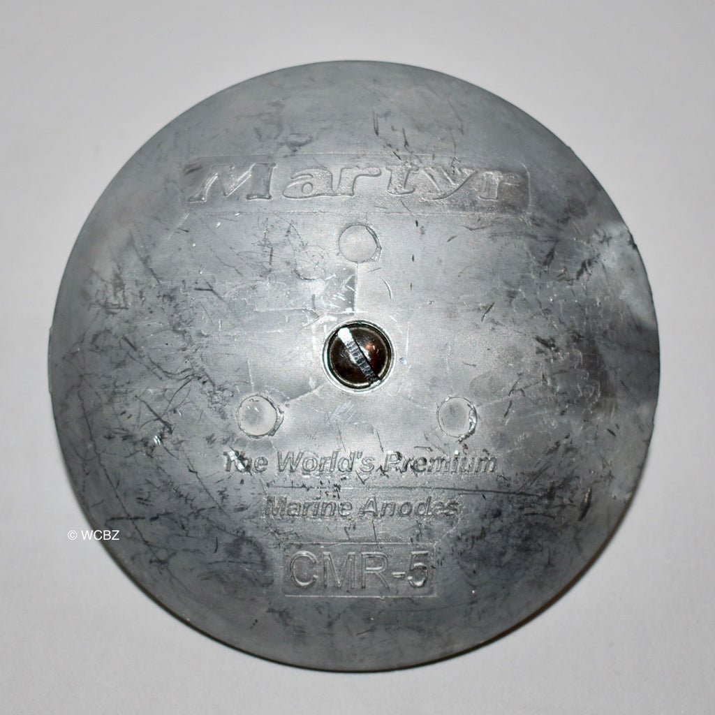 CMR-5 Rudder Button - Zinc -