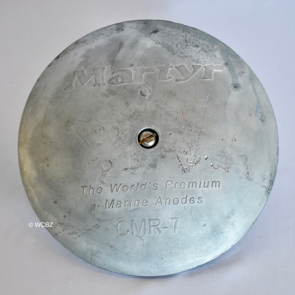 CMR-7 Rudder Button - Zinc -